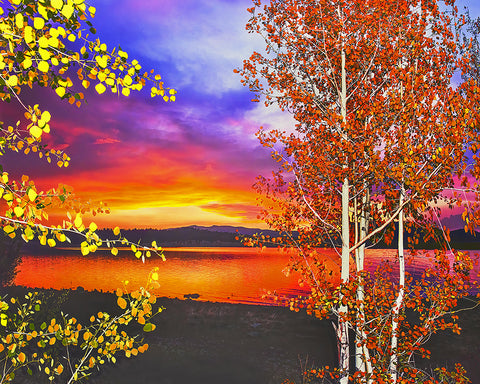 Big Lake Autumn, White Mountains, Arizona