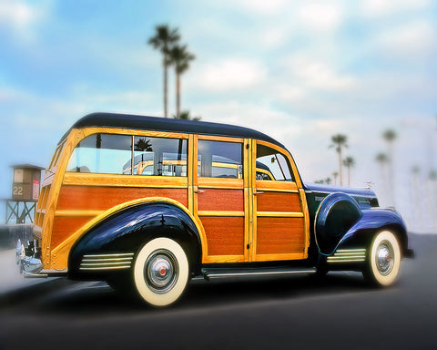 Blue Woody, Newport Beach, California