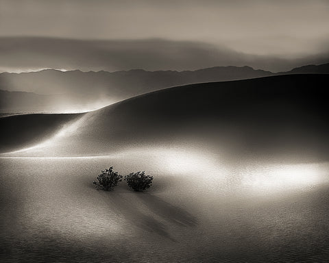 Blowing Sand, Death Valley National Park, California