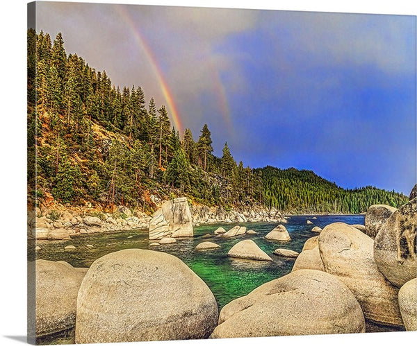 Boulder Bay Rainbows Canvas