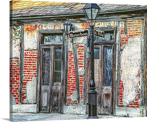 Bourbon Street, New Orleans, Louisiana Canvas
