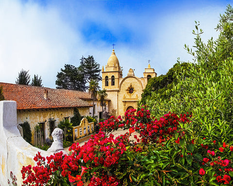 Mission Carmel, California Standard Art Print