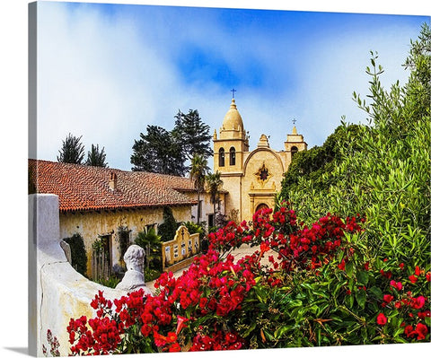 Mission Carmel, California Canvas