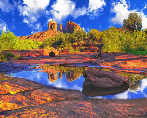 Cathedral Rock, Sedona, Arizona Metal Print