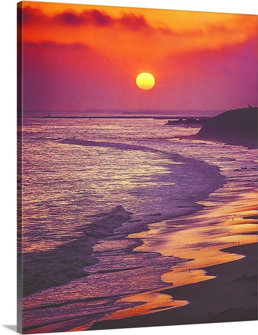 Crystal Cove State Park and Corona del Mar Canvas