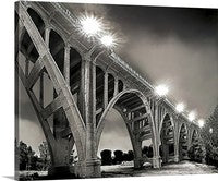 Colorado Street Bridge, Pasadena, California Canvas