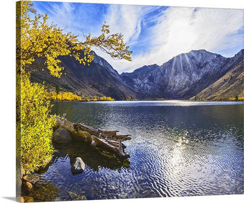 Convict Lake Sunset Canvas