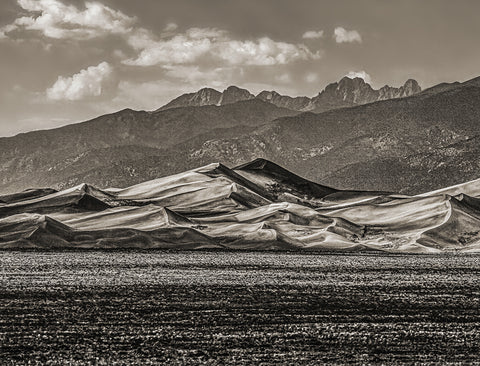 Great Sand Dunes National Park and Preserve, Colorado Sepia