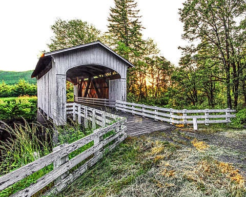 Covered Bridge, Pacific Northwest