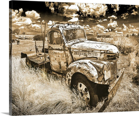 Dove Creek 66 Sepia Canvas