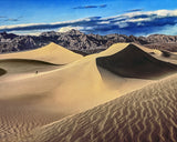 Death Valley Dunes, Death Valley National Park, California Metal Print