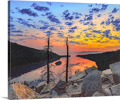 Emerald Bay Sunrise, Lake Tahoe, California Canvas