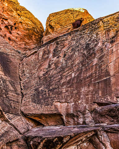 Messages and Spirits From the Past, Gold Butte National Monument, Nevada