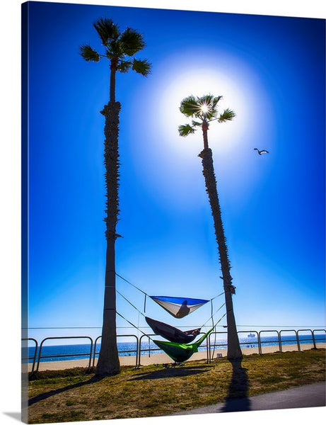 Hammock Time Surf City Canvas