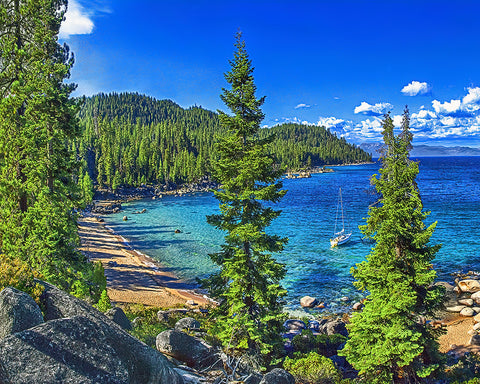 Hidden Beach, Lake Tahoe, Nevada