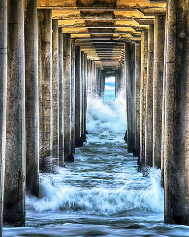 Inside the Pillars, Huntington Beach, California
