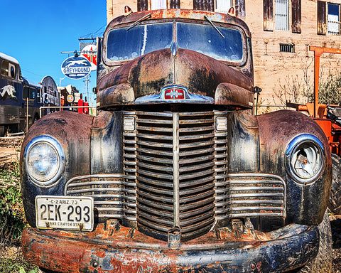 International Truck, Bisbee, Arizona Standard Art Print