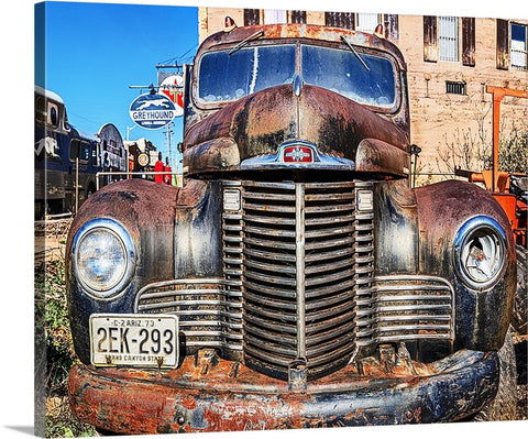 International Truck, Bisbee, Arizona Canvas
