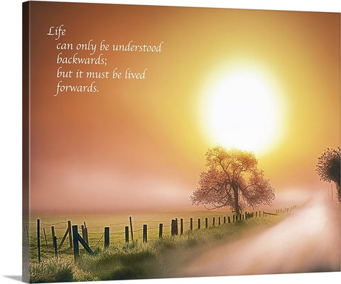 Life Looking Forward Canvas