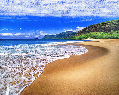 Never Lonely Beach, Kauai, Hawaii
