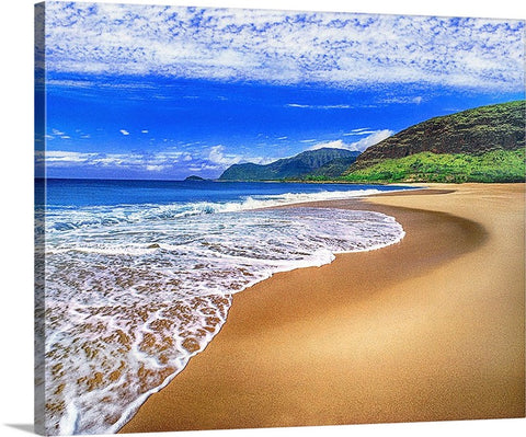 Never Lonely Beach Canvas