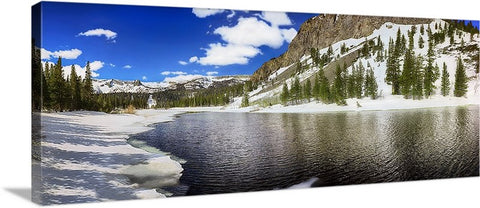 Mammoth Lakes Panoramic Canvas