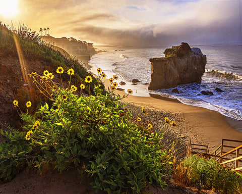 El Matador Bluffs Sunrise, Malibu, California