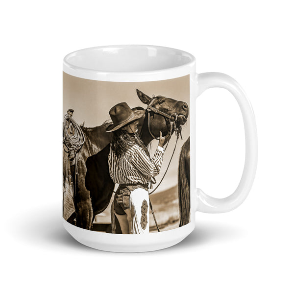 Now That Feels Good, Sepia Mug