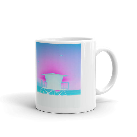 Lifeguard Tower Mug