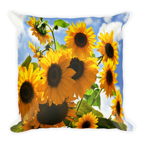 Reach for the Sky Vertical Square Pillow