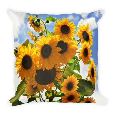 Reach for the Sky Square Pillow