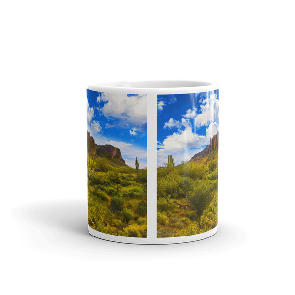 Superstition Mountains Springtime Mug
