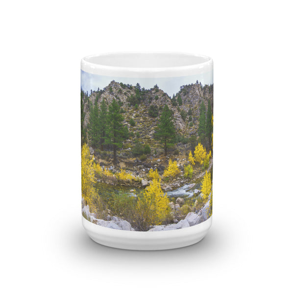 Autumn Color River Mug