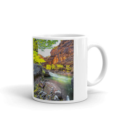 Vertical Narrows Mug