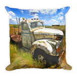 Dove Creek 66 Square Throw Pillow