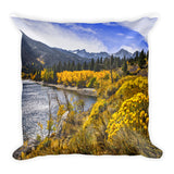 Twin Lakes Square Pillow