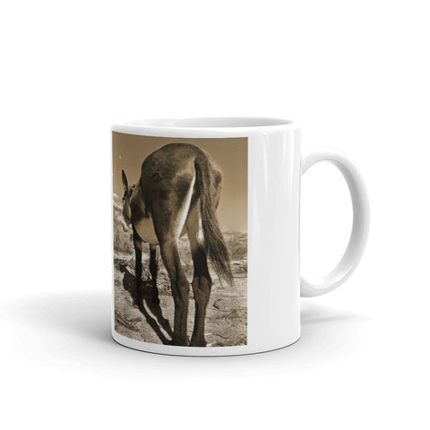 Piece of Ass Sepia Mug