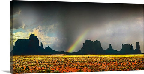 Monument Valley Panoramic Canvas