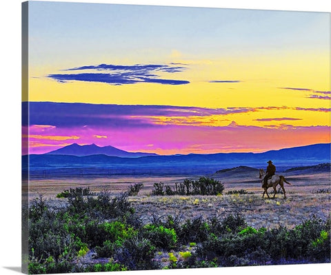 Chino Valley Cowgirl Canvas