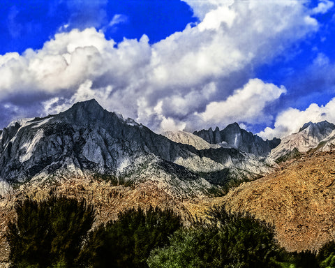 Mt Whitney, High Sierras, California