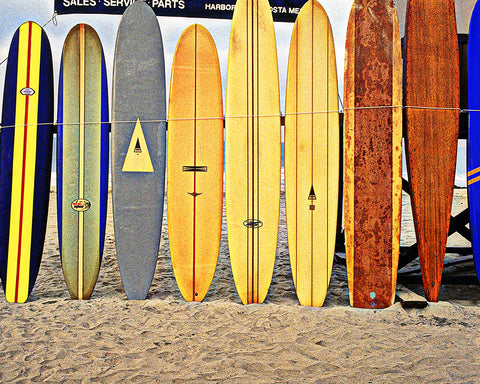 Longboards, Newport Pier, California