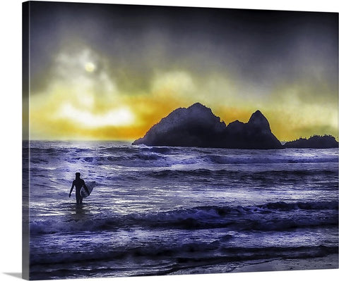Nor Cal Surfer Canvas