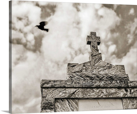 Cross and Crow, New Orleans Canvas