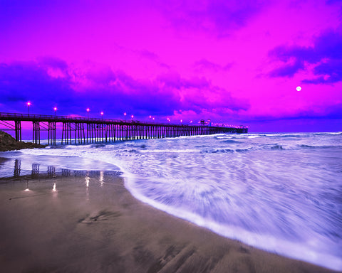 Oceanside Pier, Sunrise, California