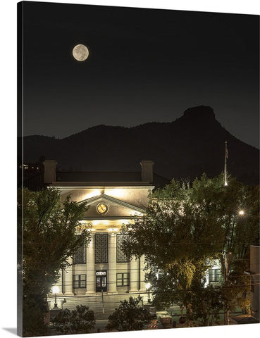 Prescott Courthouse and Thumb Butte Canvas