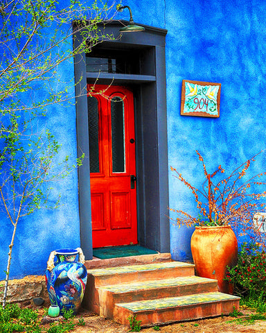 Red and Blue, Tucson, Arizona