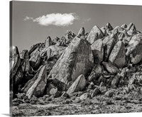 Alabama Hills Eastern Sierras, Lone Pine, California Canvas