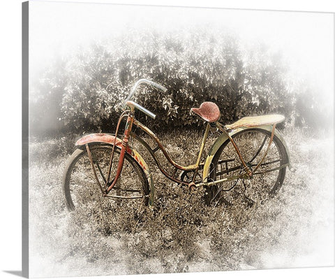 Rusty Bike Canvas