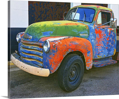 Rusty Chevy Canvas