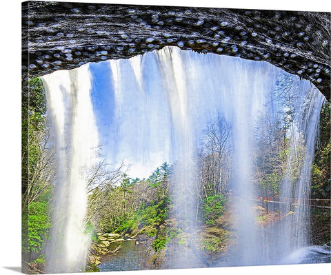 Falling Water Canvas